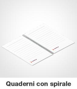 Quaderni appunti c/spirale